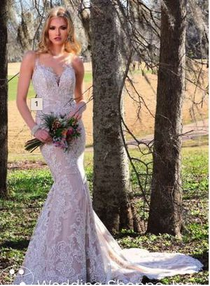 Wedding Dress - Designer Justin & Ashley for Sale in Bailey's Crossroads, VA