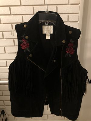 Suede Fringe Vest for Sale in West Covina, CA