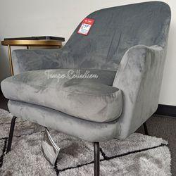 NEW, SILVER Accent Chair, SKU# TCA3000235 for Sale in Huntington Beach,  CA