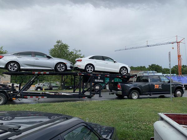 Appalachian 4 car hauler
