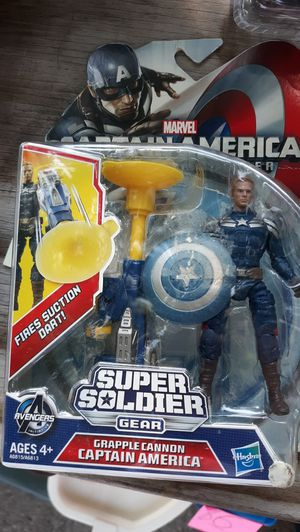 Captain america winter soldier movie toy for Sale in Oak Park, IL