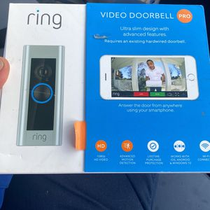 Ring Doorbell Pro Brand New for Sale in Seattle, WA