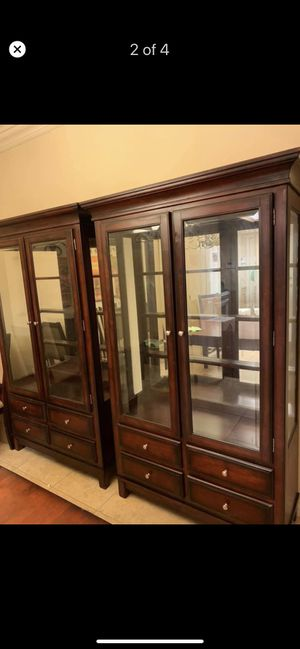 Dining Set - China Hutch, Buffet, Table w/6Chairs for Sale in Corpus Christi, TX