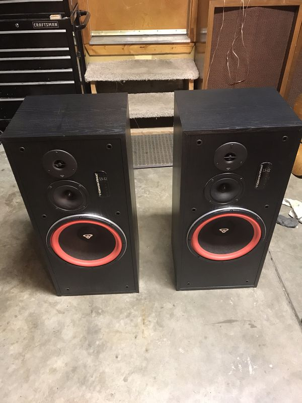 Cerwin Vega LS-12 and LS-5C speakers