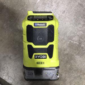 Ryobi Bluetooth/ AM FM radio for Sale in Sacramento, CA