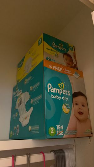 Diapers size 2 for Sale in Norfolk, VA