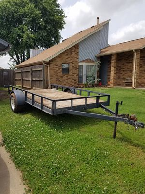 Utility trailer 12ft x 6ft for Sale in Oklahoma City, OK