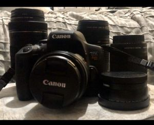 Canon EOS Rebel T6i Camera and Lenses for Sale in San Jose, CA