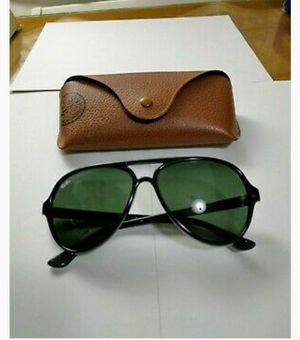RAY-BAN Mens Designer Sunglasses Black Pilot CATS 5000 RB 4125 601 3N RAYBAN for Sale in Sacramento, CA