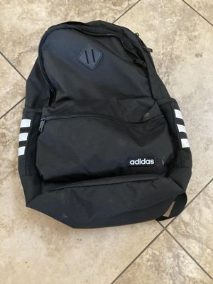 Black and White Adidas Backpack x2 for Sale in Rancho Cucamonga, CA
