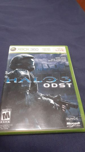 Xbox360 HALO 3 ODST for Sale in CRYSTAL CITY, CA