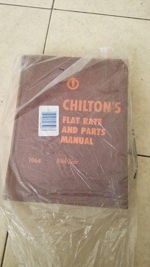 ((Make cash offer)) Chiltons manual for Sale in Lakeland, FL