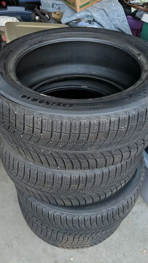 Michelin x-ice 235 / 50 or 18 for Sale in Littleton, CO