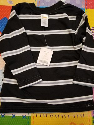 Kid Boy Gymboree top long sleeve 2side wear 18-24 m NEW WITH TAG for Sale in Silver Spring, MD