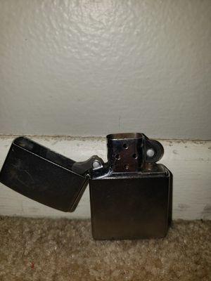 Zippo Lighter (Silver) for Sale in Aurora, IL