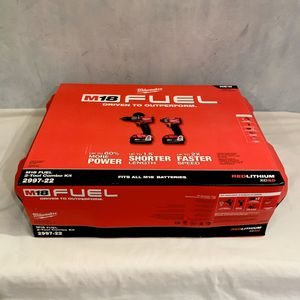 New Milwaukee M18™ FUEL 2-Tool Combo Kit: Hammer Drill/Impact. Mod No 2997-22 for Sale in Davie, FL
