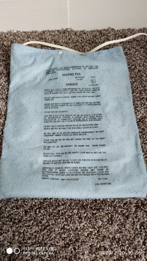 Sunbeam heating pad from Walgreens excellent condition for Sale in Stamford, CT