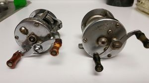 2 vintage fishing reels for Sale in Weymouth, MA