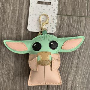 Disney Baby Yoda Bag Charm for Sale in Bloomington, CA
