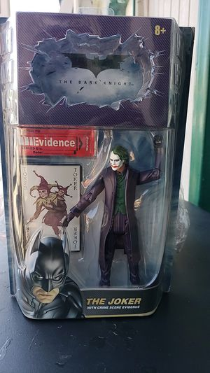 DC COMIC ACTION FIGURE COLLECTIBLE THE JOKER PICK UP IN WHITTIER THANKS 😊 for Sale in Whittier, CA