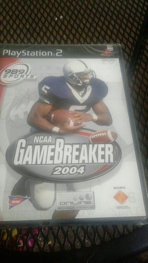 989sports ncaa gamebreaker ps2 for Sale in Spring Valley, CA