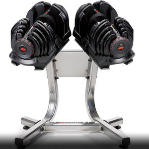 Bowflex 1090 dumbbells and stand like new for Sale in Hightstown, NJ