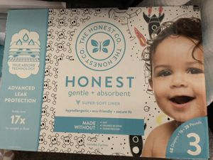 Honest Company Brand Diapers Size 3 Brand New for Sale in Saint Charles, MO