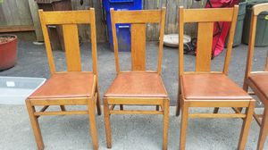 Antique wooden chairs for Sale in Fairview, OR