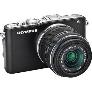Olympus E-PL3 Mirrorless Micro Four Thirds Digital Camera with 14-42mm II f/3.5-5.6 Lens (Black) for Sale in Dallas, TX