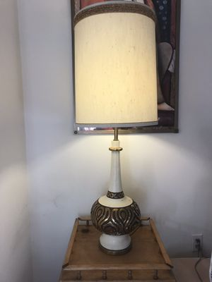 Gorgeous Gold vintage lamp for Sale in Portland, OR