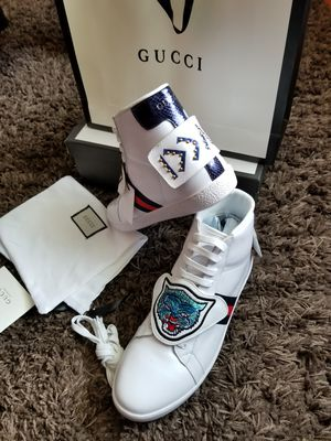 81a50391423 Gucci Ace high top with removable patches for Sale in Powder Springs