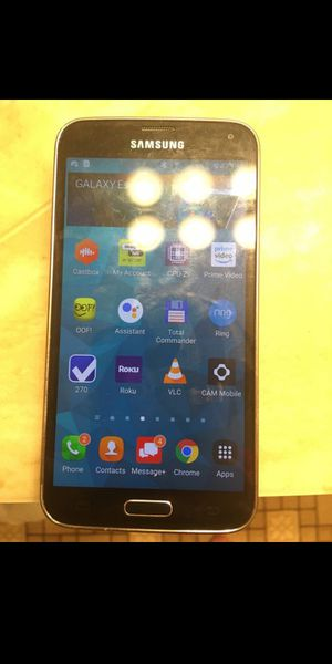Samsung Galaxy S5 (Verizon Unlocked) for Sale in Independence, KS