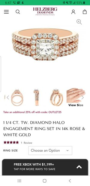 Wedding ring and band for Sale in Saint Charles, MD