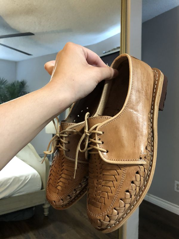 SIZE 9 REAL LEATHER ANKLE SHOES FROM JALISCO MX
