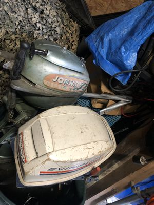 Two vintage outboard motors for Sale in Marysville, WA