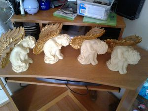Cuatro angelitos para decorar for Sale in Manassas, VA
