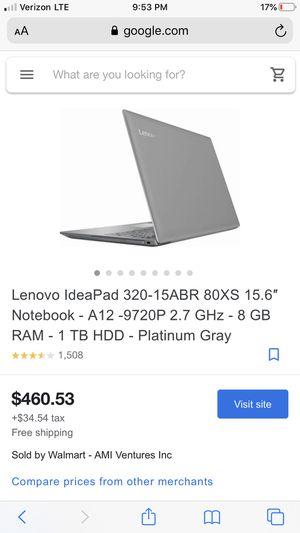 Lenovo $400 obo for Sale in Esto, FL
