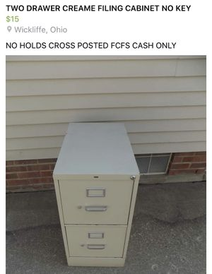File cabinet for Sale in Willowick, OH