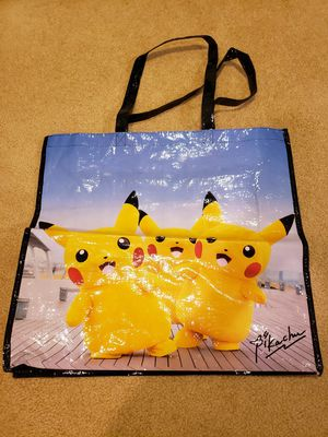 Photogenic Pikachu collection Pokemon Center Tote Bag for Sale in Rowland Heights, CA