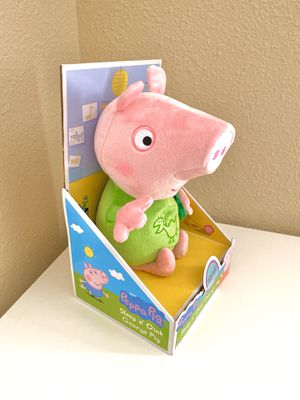 Peppa Pig Slumber N' Oink George Plush Toy w/ Lullaby Song- Perfect Gift for Kids for Sale in Santa Clara, CA