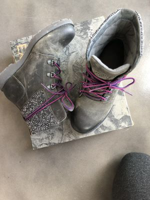 The North Face Womens Ballard Lace Brown Leather Ankle Boots for Sale in Austin, TX