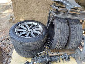 Ford flex rims. 19s 80% tire life runflats for Sale in San Bernardino, CA