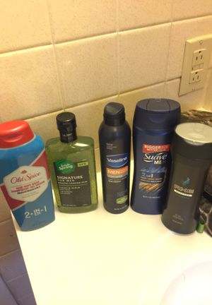 Men's never opened body wash, shampoo, lotion lot for Sale in Spring City, PA