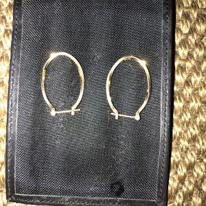 24k gold earrings for Sale in Houston, TX