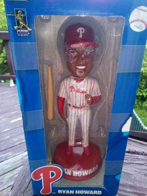 Retro Ryan Howard #6 Philadelphia Phillies Team Bobblehead Figurine for Sale in Lorton, VA