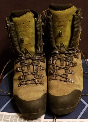 HAIX Protector 11.5M Ultra Lime Green Work Boot for Sale in Stanton, KY