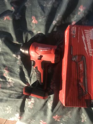 Milwaukee heat gun and multi tool for Sale in Silver Spring, MD