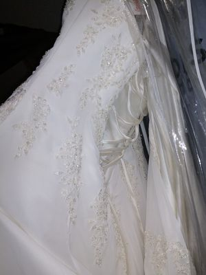 Strapless Wedding Dress (Da Vinci) for Sale in Otsego, MN