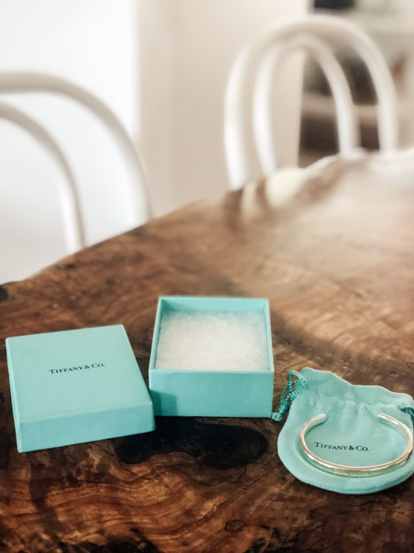Tiffany and Co Silver Bracelet still in packaging box