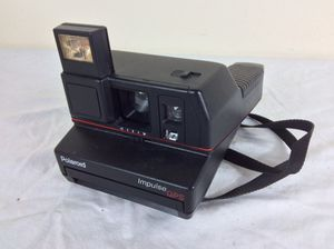 Vintage Polaroid Impulse QPS Instant Film Camera with Strap for Sale in Odenton, MD